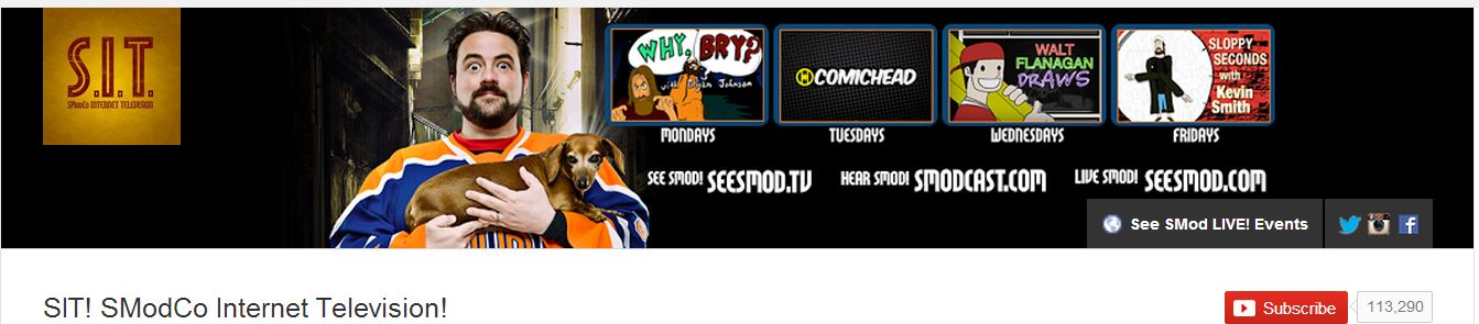 Kevin Smith YT channel