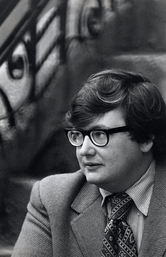 Roger Ebert, 1942-2013. Photograph by Art Shay