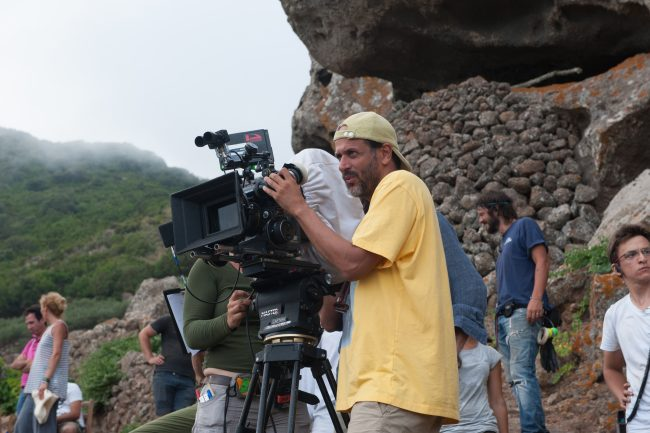 Luca Guadagnino helms the shoot on the island of Pantelleria