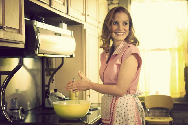 Jessica Chastain, as the happy homemaker, Mrs. Williams.