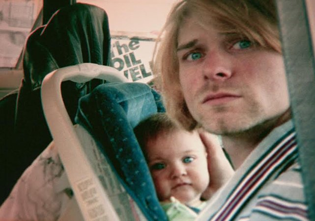 A shot from Kurt Cobain: Montage of Heck