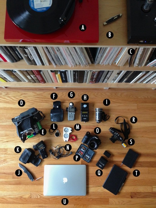 Moviemaker, What's In Your Kit, Rodney Taylor - All