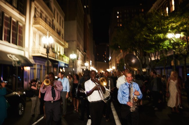 Opening night New Orleans Film Festival 2015. Photo by Craig Mulcahy.