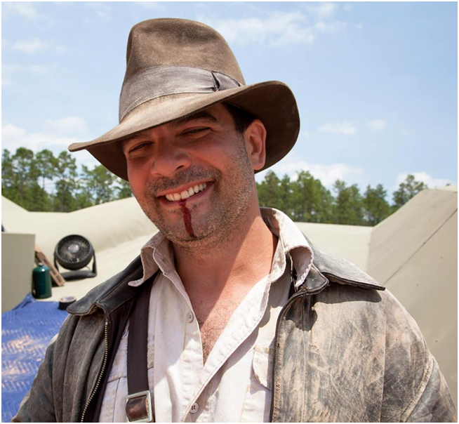 Chris Strompoulous as Indiana Jones