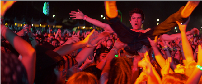 crowdsurfing in the proof of concept for XOXO