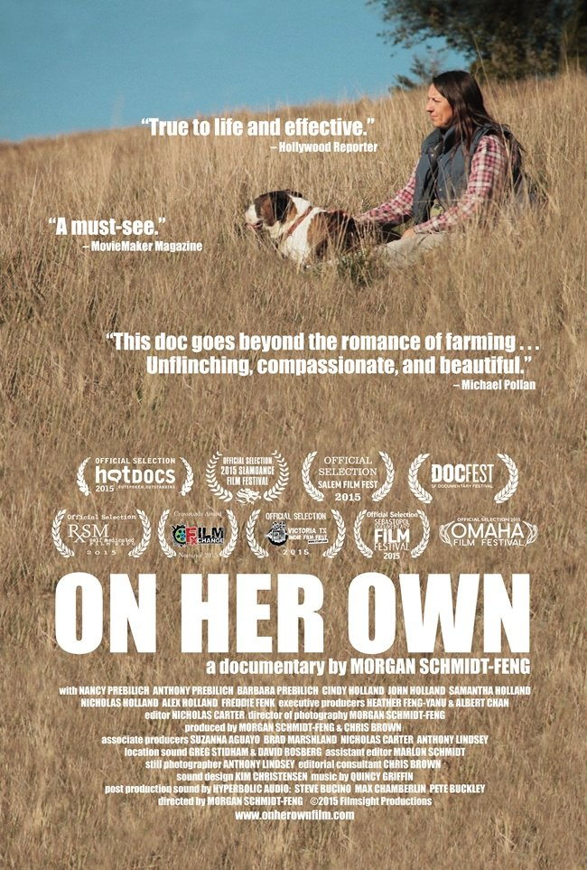On Her Own poster_1