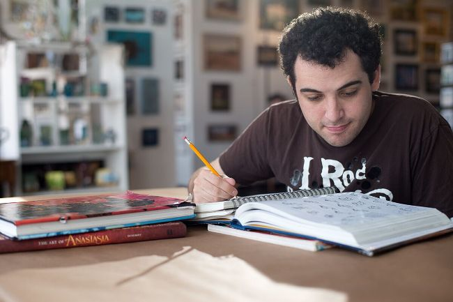 Owen Suskind in a scene from Life, Animated