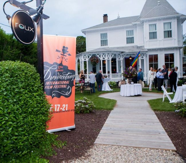 A picturesque Provincetown welcome. Photograph by Chuck Anzalone, Courtesy of Provincetown International Film Festival