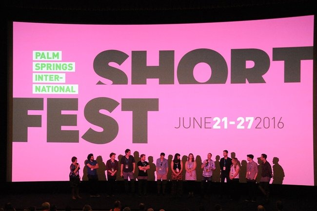 A filmmaker Q&A at the 2016 Palm Springs ShortFest
