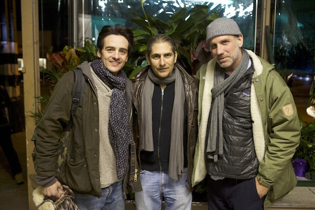 Vincent Piazza, Michael Imperioli and Wannabe writer-director Nick Sandow.