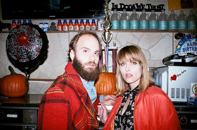 High Maintenance co-creators and husband-and-wife team, Ben Sinclair and Katja Blichfeld.  Photograph by Paul Kwiatkowski