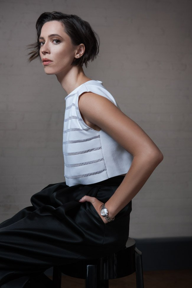 Rebecca Hall, star of Christine (directed by Antonio Campos)