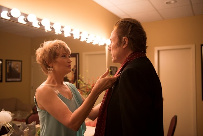 Ann Magnuson and Christopher Walken in One More Time