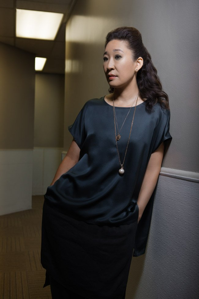 Sandra Oh, star of Catfight (directed by Onur Tukel)