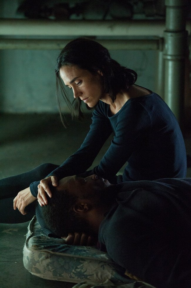 Jennifer Connelly and Anthony Mackie play homeless lovers in Shelter