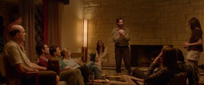 A group of old friends gathers in Hollywood Hills mansion in The Invitation