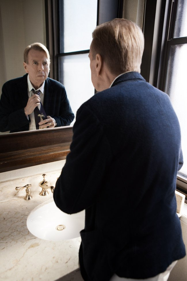 Timothy Spall, star of Denial (directed by Mick Jackson) and The Journey (directed by Nick Hamm)