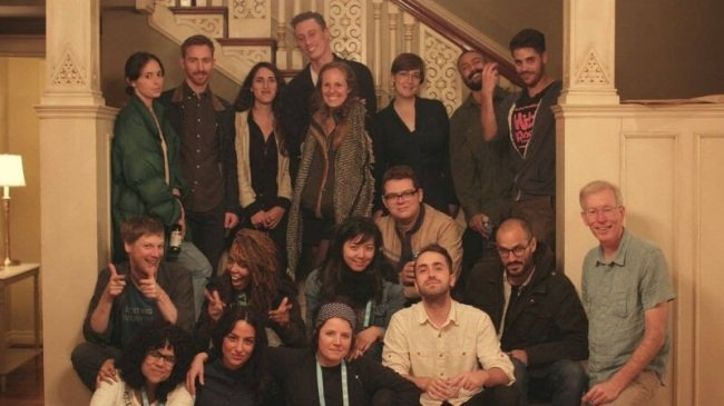 Tacoma Film Festival's 2015 25 New Faces of Film with fest Executive Director Philip Cowan (lower right). Courtesy of Tacoma Film Festival