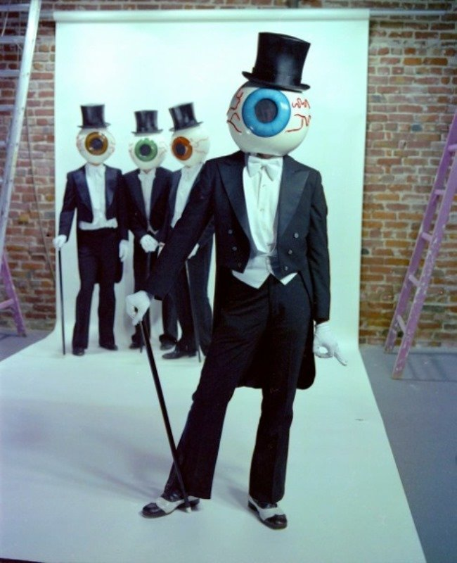 The Residents, subject of X's documentary feature Theory of Obscurity