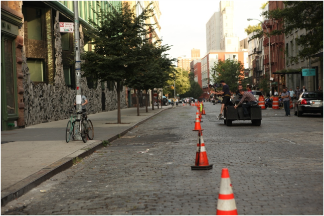 The Disappearance of Eleanor Rigby crew attempts to capture an authentic slice of street life