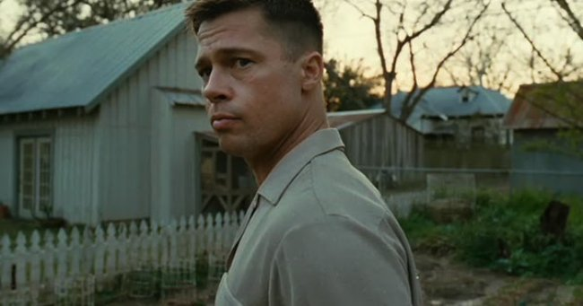 Brad Pitt in The Tree of Life. Courtesy of Fox Searchlight Pictures