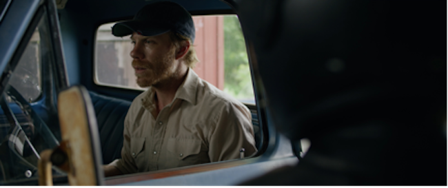In one key scene, when a mysterious stranger camera is outside looking in, we don't see Bob's imaginary friend in the passenger seat
