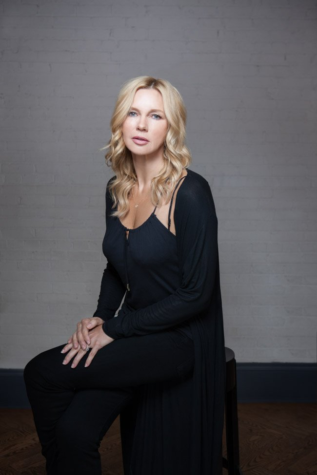 Veronica Ferres, star of Salt and Fire (directed by Werner Herzog)