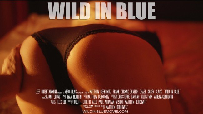 The offensive billboard poster proposal to promote Wild in Blue