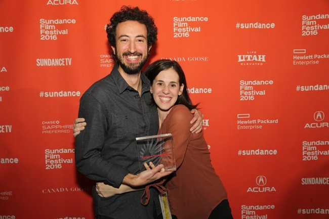 Josh and Elyse Steinberg. Photograph by Jemal Countess