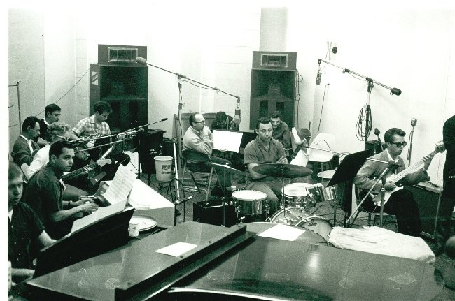 A still from The Wrecking Crew