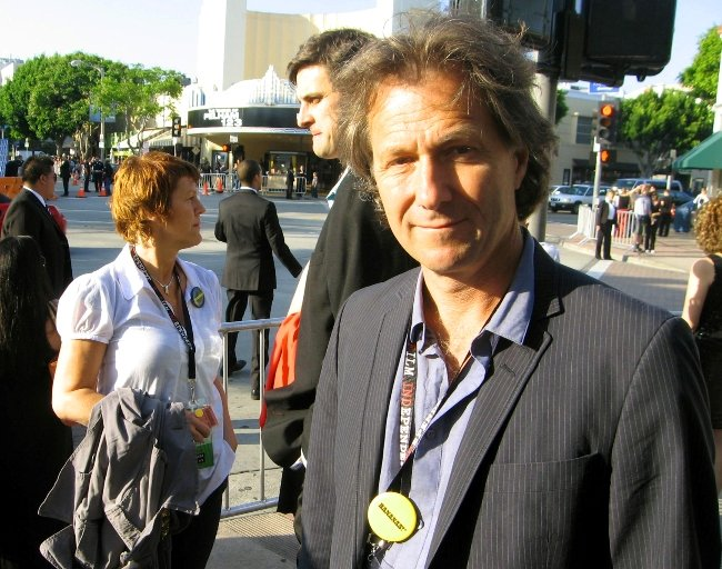 Gerten at the L.A. premiere of Bananas!*