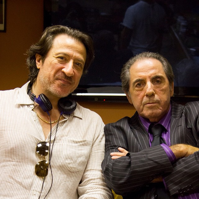 Thanksgiving is almost upon us and it's time for a FEAST! Sopranos actor turned  director, Federico Castelluccio, stands alongside actor David Proval, during the filming of LILY OF THE FEAST. The film tells the story of Santo Bastucci, a bookie turned banker with a gift for memorizing numbers - a skill that places him at the center of a mafia power stuggle. Scheduled for a 2015 Release #lilyofthefeast #federicocastelluccio #davidproval #wiseguy #sopranos #moviemaker #director #thanksgiving #mafia #paulsorvino #furiogiunta