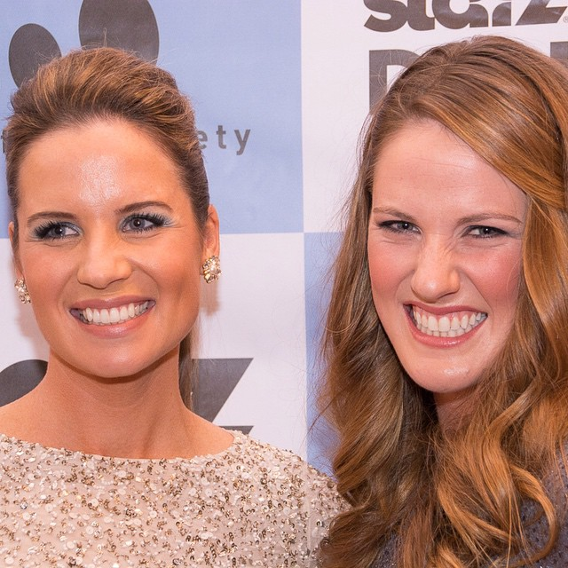 Colorado Olympians Kara Lynn Joyce and Missy Franklin on the red carpet at SDFF37 for the premiere of TOUCH THE WALL. #denverfilm @denverfilm #touchthewall #missyfranklin #karalynnjoyce #olympics #london #filmfestival #filmfest @FranklinMissy