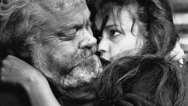 Welles as Falstaff in Chimes at Midnight.