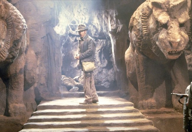Harrison Ford as Indiana Jones in Indiana Jones and the Last Crusade