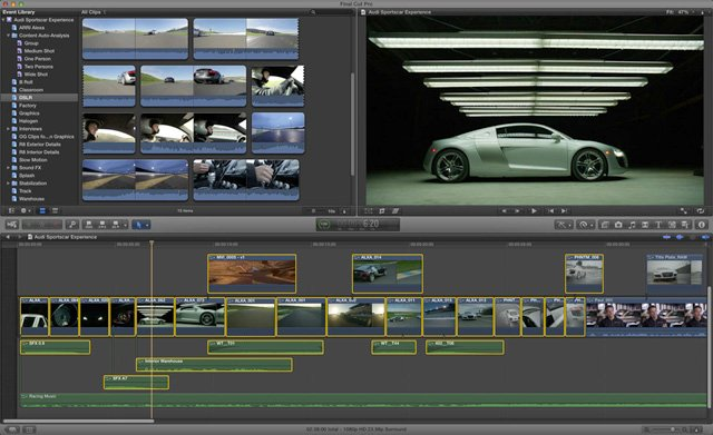 We Make Movies (Better): Final Cut Pro X/RED, Part 1