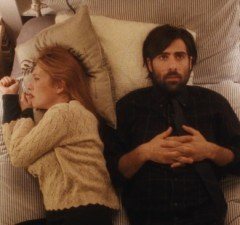 Jonathan Pryce as the famous author Ike, and Jason Schwartzman as Philip