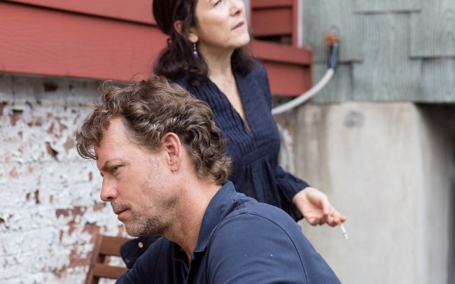 Greg Kinnear and Paulina García in Little Men