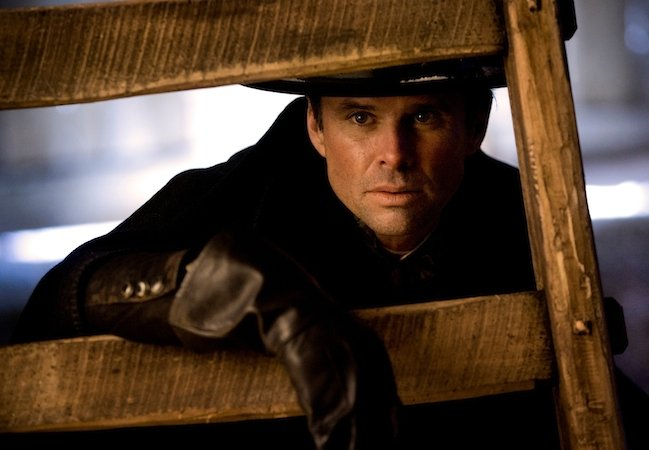 Walton Goggins as Chris Mannix in The Hateful Eight © 2015 – The Weinstein Company