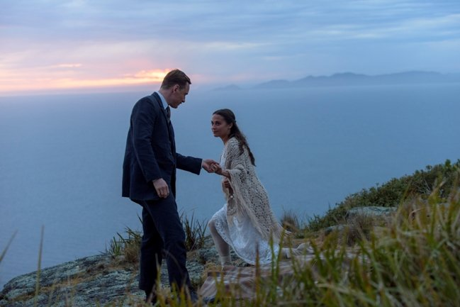 Michael Fassbender and Alicia Vikander play a couple that longs for a child in The Light Between Oceans