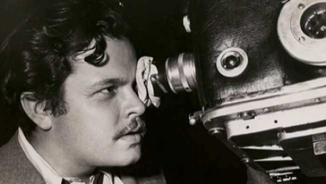 Visionary director, Orson Welles