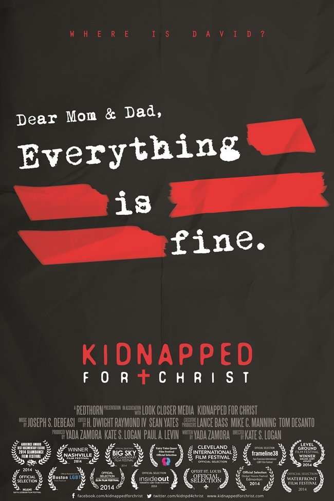 Kidnapped for Christ premiered at the Slamdance Film Festival in January 2014.