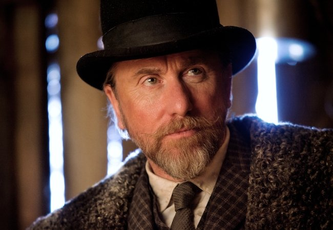 Tim Roth as Oswaldo Mowbray in The Hateful Eight. © 2015 – The Weinstein Company