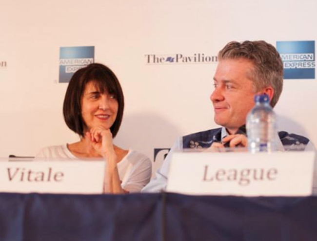 """Ruth Vitale in Cannes' 2014 panel """"From Cat Videos to Tent Poles: What is the Future of Digital Entertainment?"""""""