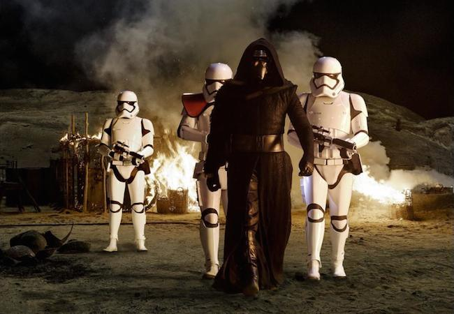 Adam Driver as Kylo Ren in Star Wars: The Force Awakens © 2015 – Lucasfilm