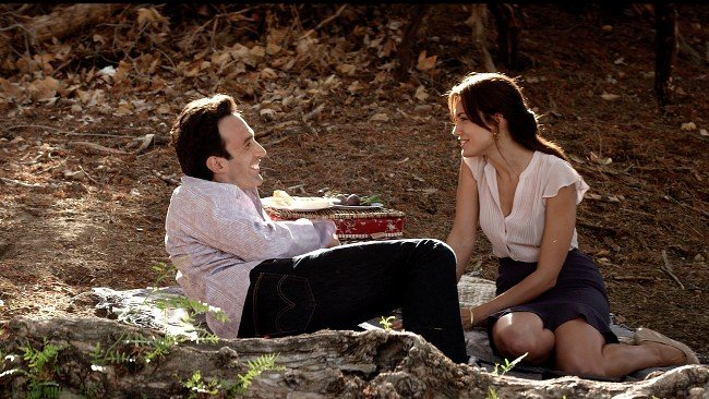 Chris Cordone and Torrey DeVitto in Stevie D