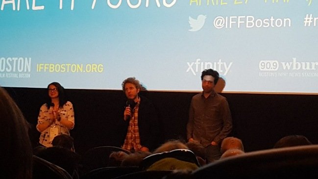 IFF Boston w/ Alex Karpovsky (star of Folk Hero & Funny Guy) and Jackie Arko of IFF Boston