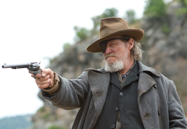 Jeff Bridges as Rooster Cogburn in True Grit (2010). Image Courtesy of Paramount Pictures